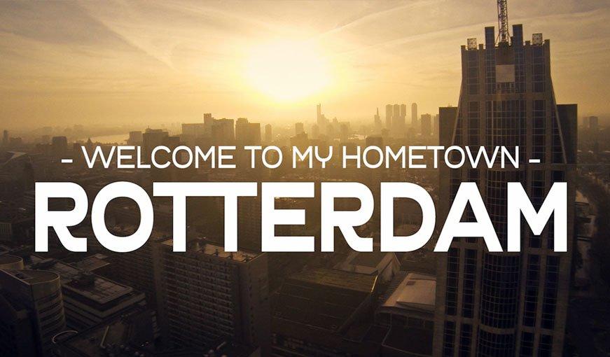 dronevideo Rotterdam