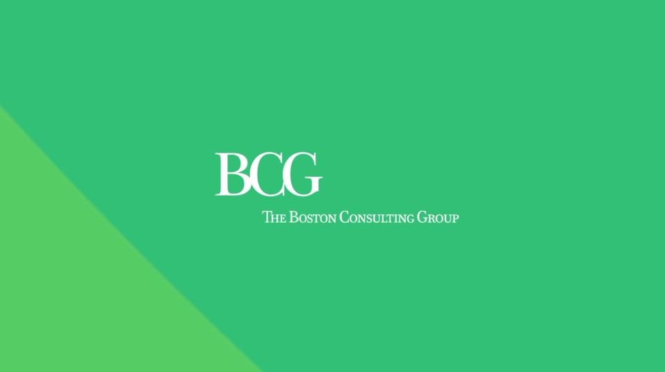 Animatie Boston Consulting Group